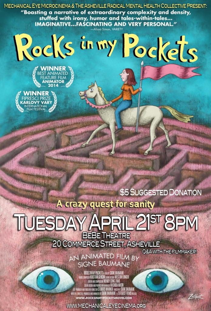 Rocks In My Pockets April 21, 2015